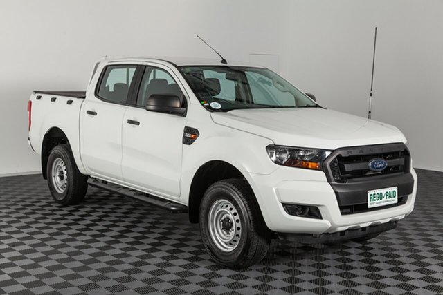 Used Ford Ranger PX MkII XL Double Cab 4x2 Hi-Rider, 2016 Ford Ranger PX MkII XL Double Cab 4x2 Hi-Rider White 6 speed Automatic Utility