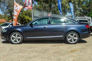 2009 Audi A6 4F MY09 Tiptronic Quattro Grey 6 Speed Sports Automatic Sedan.