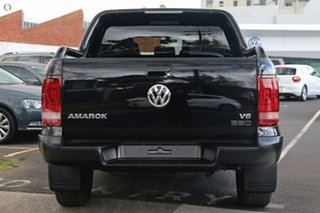 2019 Volkswagen Amarok 2H MY19 TDI580 4MOTION Perm Highline Black Black 8 Speed Automatic Utility.