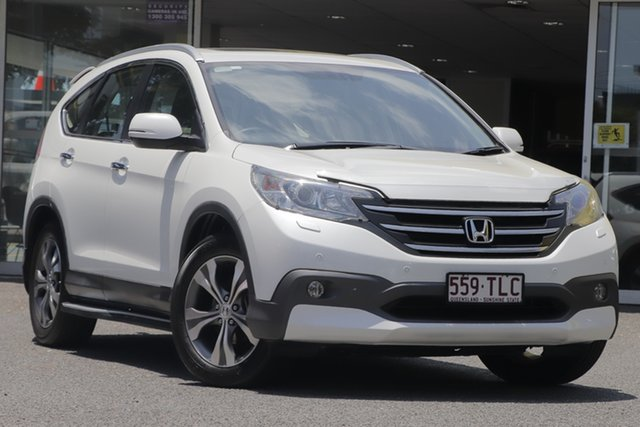 Used Honda CR-V RM VTi-L 4WD, 2013 Honda CR-V RM VTi-L 4WD White 5 Speed Automatic Wagon