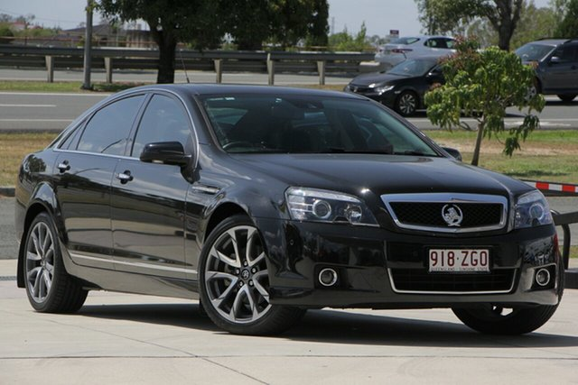 Used Holden Caprice WN II MY17 V, 2017 Holden Caprice WN II MY17 V Black 6 Speed Sports Automatic Sedan
