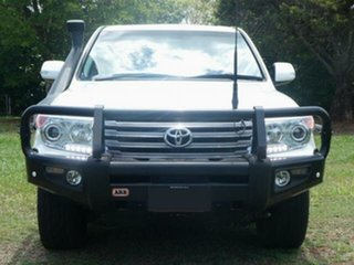 2014 Toyota Landcruiser VDJ200R MY13 VX (4x4) Crystal Pearl 6 Speed Automatic Wagon