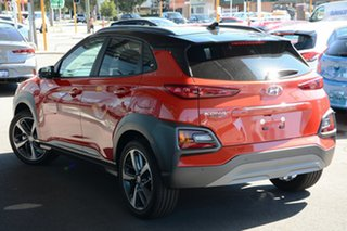 2020 Hyundai Kona OS.3 MY20 Highlander 2WD Tangerine Comet 6 Speed Sports Automatic Wagon.