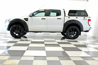 2013 Ford Ranger PX XL 3.2 (4x4) White 6 Speed Automatic Dual Cab Utility