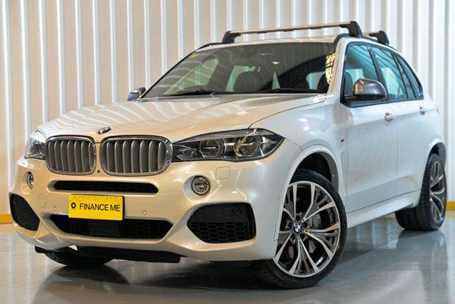 Used BMW X5 F15 M50D, 2016 BMW X5 F15 M50D White 8 Speed Sports Automatic Wagon