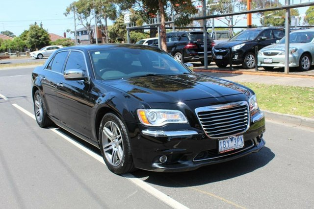 Used Chrysler 300 MY12 C Luxury, 2012 Chrysler 300 MY12 C Luxury Black 8 Speed Automatic Sedan