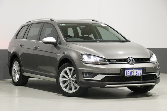 Used Volkswagen Golf AU MY17 Alltrack 132 TSI, 2017 Volkswagen Golf AU MY17 Alltrack 132 TSI Atacama Grey 6 Speed Direct Shift Wagon