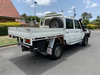 2014 Toyota Landcruiser VDJ79R Workmate White 5 Speed Manual Dual Cab
