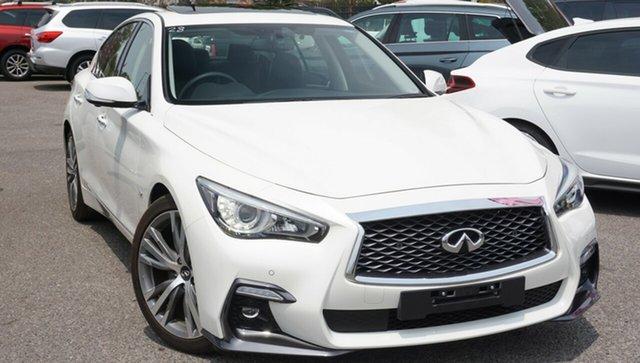 Used Infiniti Q50 V37 S Premium, 2018 Infiniti Q50 V37 S Premium White 7 Speed Sports Automatic Sedan