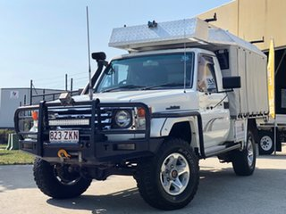 2005 Toyota Landcruiser HDJ79R RV (4x4) White 5 Speed Manual 4x4 Cab Chassis
