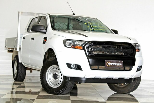Used Ford Ranger PX MkII MY17 Update XL 2.2 Hi-Rider (4x2), 2017 Ford Ranger PX MkII MY17 Update XL 2.2 Hi-Rider (4x2) White 6 Speed Automatic Crew Cab Chassis