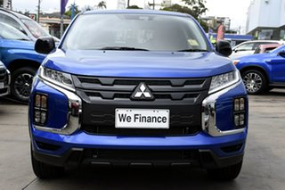 2020 Mitsubishi ASX XD MY21 MR 2WD Lightning Blue 1 Speed Constant Variable Wagon
