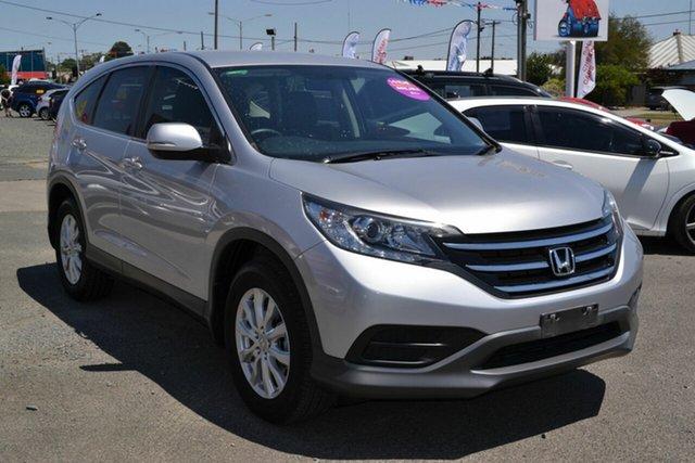 Used Honda CR-V 30 MY15 VTi (4x2), 2014 Honda CR-V 30 MY15 VTi (4x2) Silver 5 Speed Automatic Wagon
