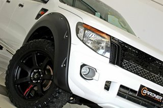 2013 Ford Ranger PX XL 3.2 (4x4) White 6 Speed Automatic Dual Cab Utility.