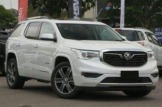 2019 Holden Acadia AC MY19 LTZ-V 2WD Abalone White 9 Speed Sports Automatic Wagon.