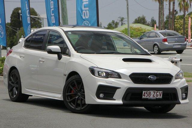 Demo Subaru WRX V1 MY19 Premium AWD, 2018 Subaru WRX V1 MY19 Premium AWD White Crystal 6 Speed Manual Sedan