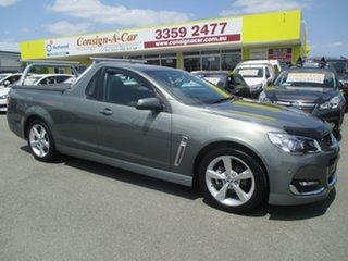 2015 Holden Ute VF II MY16 SV6 Ute Grey 6 Speed Sports Automatic Utility.
