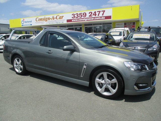 Used Holden Ute VF II MY16 SV6 Ute, 2015 Holden Ute VF II MY16 SV6 Ute Grey 6 Speed Sports Automatic Utility