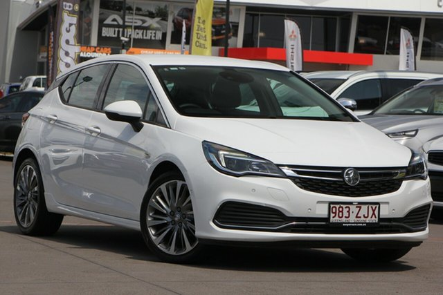 Used Holden Astra BK MY17 RS-V, 2017 Holden Astra BK MY17 RS-V White 6 Speed Sports Automatic Hatchback
