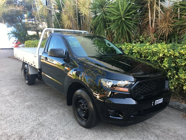 Used Ford Ranger PX MkIII MY19 XL 2.2 Low Rider (4x2), 2019 Ford Ranger PX MkIII MY19 XL 2.2 Low Rider (4x2) Black 6 Speed Manual Cab Chassis