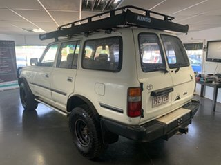 1991 Toyota Landcruiser GXL (4x4) White 5 Speed Manual 4x4 Wagon.