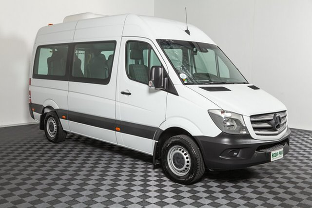 Used Mercedes-Benz Sprinter NCV3 316CDI Low Roof MWB 7G-Tronic Transfer, 2017 Mercedes-Benz Sprinter NCV3 316CDI Low Roof MWB 7G-Tronic Transfer White 7 speed Automatic Bus
