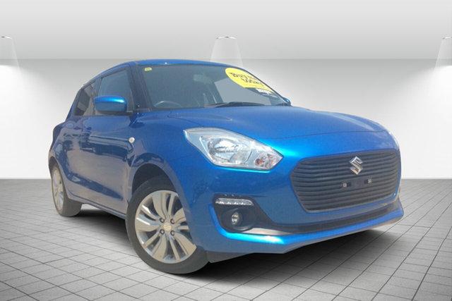 Used Suzuki Swift AZ GL Navigator, 2017 Suzuki Swift AZ GL Navigator Blue 1 Speed Constant Variable Hatchback