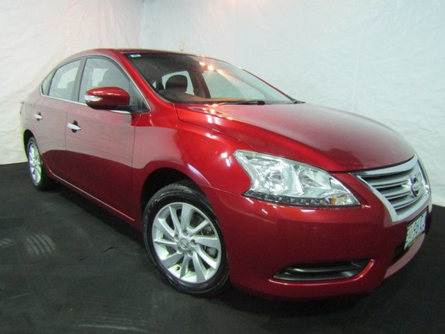 Used Nissan Pulsar B17 ST, 2013 Nissan Pulsar B17 ST Maroon 1 Speed Constant Variable Sedan