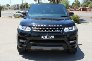 2015 Land Rover Range Rover LW MY15 Sport 3.0 SDV6 SE Black 8 Speed Automatic Wagon.