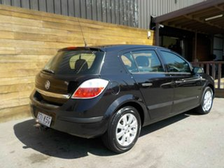 2005 Holden Astra AH MY05 CD Black 4 Speed Automatic Hatchback