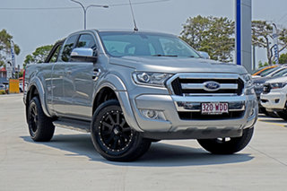 2015 Ford Ranger PX XLT Super Cab Silver 6 Speed Sports Automatic Utility.