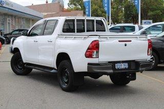 2015 Toyota Hilux GUN136R SR Double Cab 4x2 Hi-Rider White 6 Speed Manual Utility