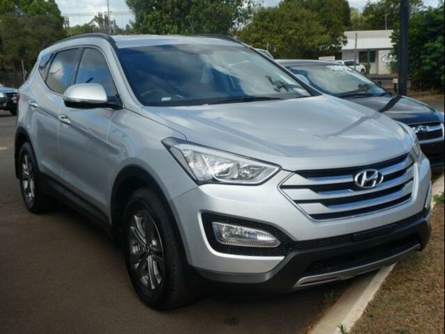 Used Hyundai Santa Fe DM Active CRDi (4x4), 2014 Hyundai Santa Fe DM Active CRDi (4x4) Silver 6 Speed Automatic Wagon
