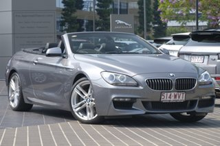 2011 BMW 6 Series F12 MY0911 640i Steptronic Silver 8 Speed Sports Automatic Convertible.