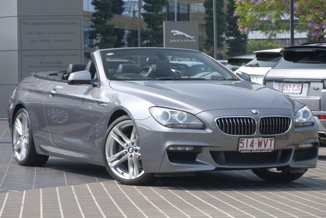 Used BMW 6 Series F12 MY0911 640i Steptronic, 2011 BMW 6 Series F12 MY0911 640i Steptronic Silver 8 Speed Sports Automatic Convertible