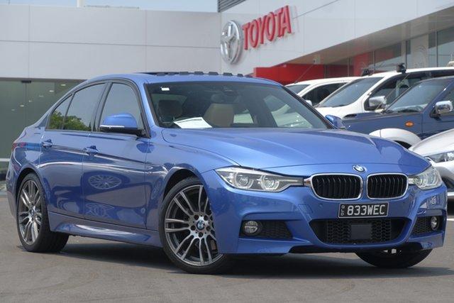 Used BMW 3 Series F30 MY1114 320i M Sport, 2015 BMW 3 Series F30 MY1114 320i M Sport Estoril Blue 8 Speed Sports Automatic Sedan