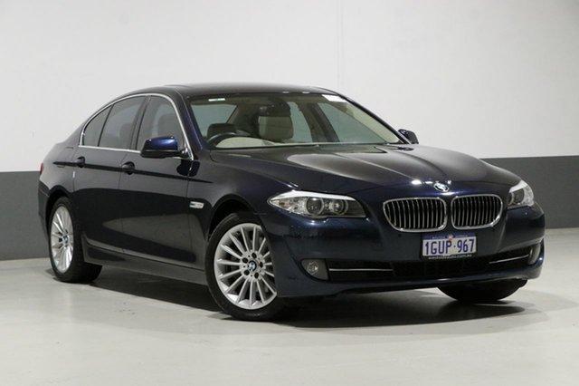 Used BMW 520d F10 , 2010 BMW 520d F10 Blue 8 Speed Automatic Sedan