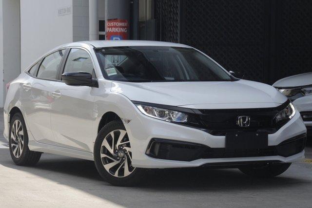 Demo Honda Civic 10th Gen MY19 50 Years Edition, 2019 Honda Civic 10th Gen MY19 50 Years Edition Platinum White 1 Speed Constant Variable Sedan