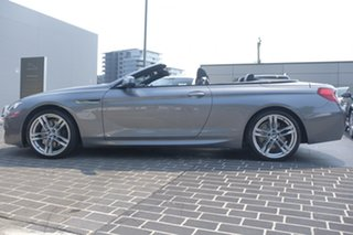 2011 BMW 6 Series F12 MY0911 640i Steptronic Silver 8 Speed Sports Automatic Convertible