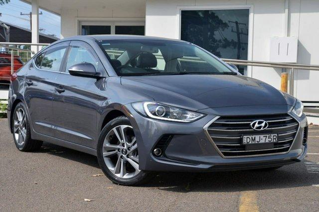 Used Hyundai Elantra AD MY17 Elite, 2016 Hyundai Elantra AD MY17 Elite Grey 6 Speed Sports Automatic Sedan