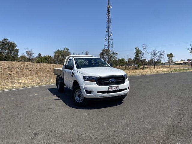Used Ford Ranger PX MkIII 2019.00MY XL, 2019 Ford Ranger PX MkIII 2019.00MY XL Arctic White 6 Speed Sports Automatic Cab Chassis