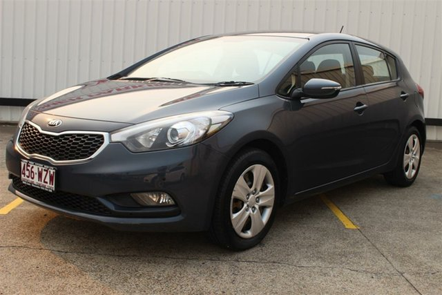 Used Kia Cerato YD MY15 S, 2014 Kia Cerato YD MY15 S Grey 6 Speed Sports Automatic Hatchback
