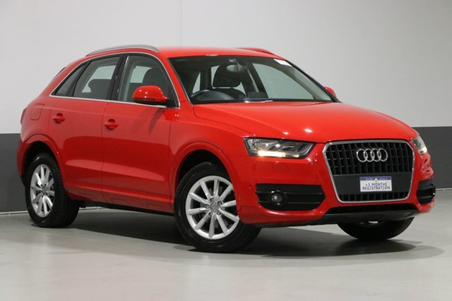 Used Audi Q3 8U MY14 1.4 TFSI (110kW), 2014 Audi Q3 8U MY14 1.4 TFSI (110kW) Red 6 Speed Automatic Wagon