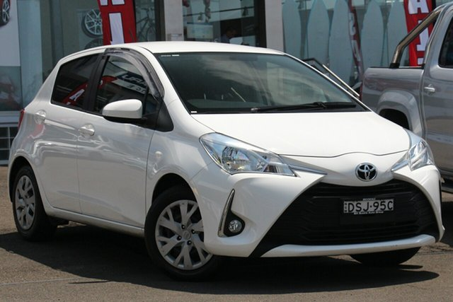 Used Toyota Yaris NCP131R SX, 2017 Toyota Yaris NCP131R SX White 4 Speed Automatic Hatchback