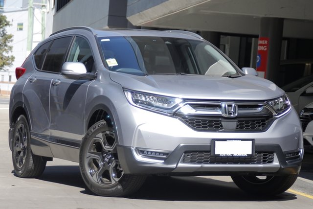 Demo Honda CR-V RW MY19 VTi-LX 4WD, 2019 Honda CR-V RW MY19 VTi-LX 4WD Lunar Silver 1 Speed Constant Variable Wagon