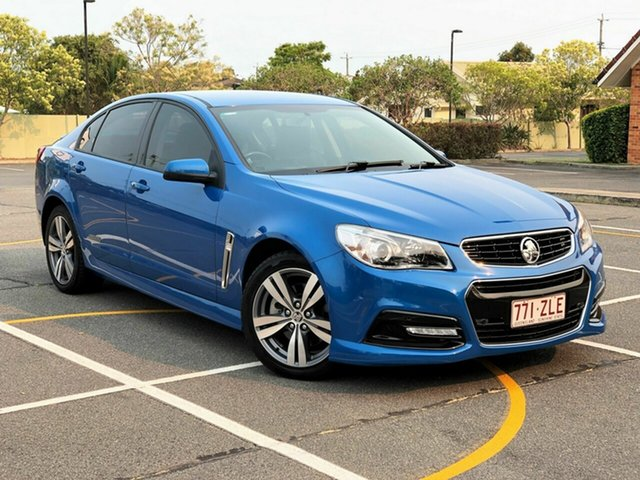 Used Holden Commodore VF MY14 SS, 2013 Holden Commodore VF MY14 SS Blue 6 Speed Sports Automatic Sedan
