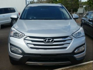 2014 Hyundai Santa Fe DM Active CRDi (4x4) Silver 6 Speed Automatic Wagon.