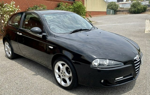 Used Alfa Romeo 147 MY2005 Selespeed, 2006 Alfa Romeo 147 MY2005 Selespeed Black 5 Speed Seq Manual Auto-Clutch Hatchback
