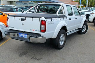 2014 Nissan Navara D22 S5 ST-R White 5 Speed Manual Utility
