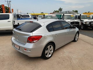 2014 Holden Cruze JH Series II MY14 Equipe Silver 5 Speed Manual Hatchback
